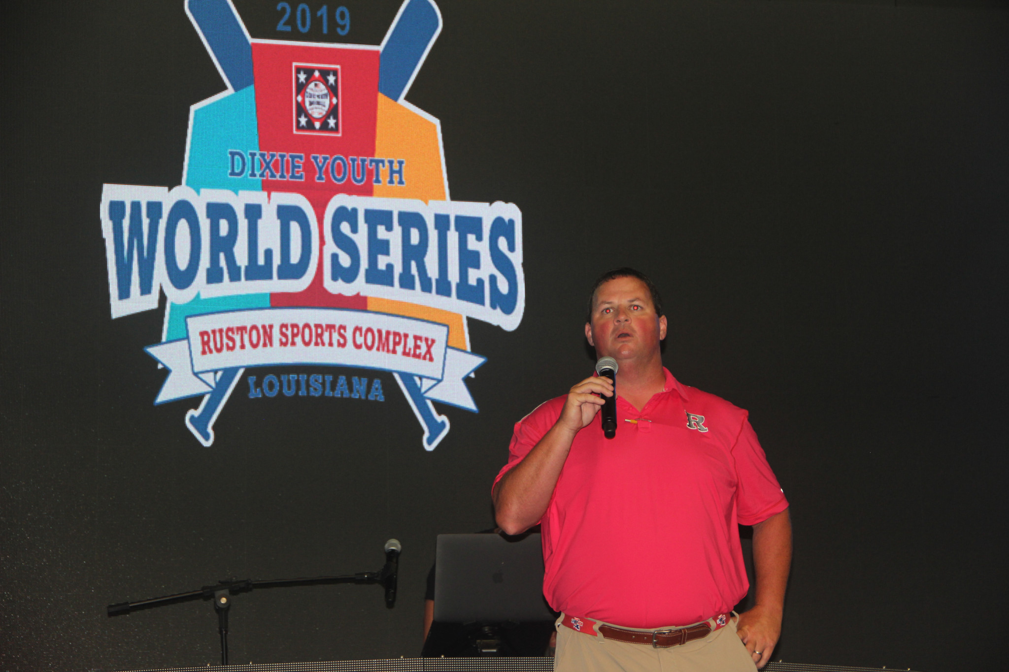 Matt Tyler, President of Ruston Dixie Baseball