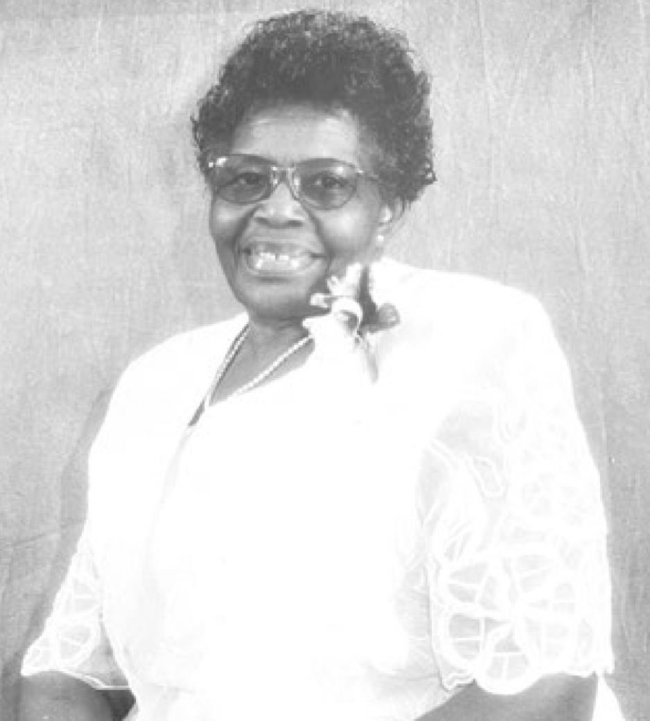 """Mrs. Eddie Lee Lyons """"Mama Lyons"""""""