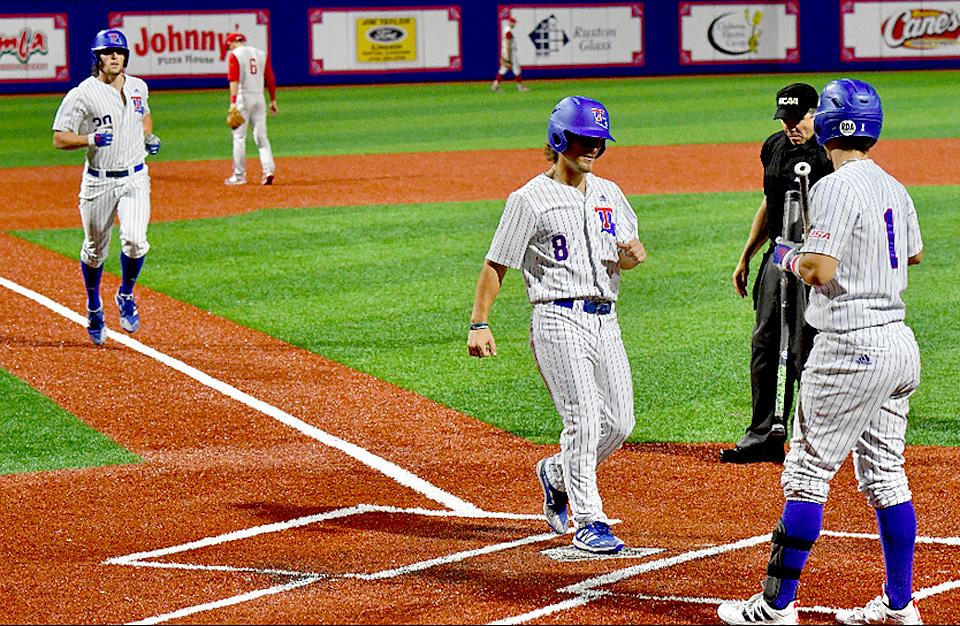 Steele home run