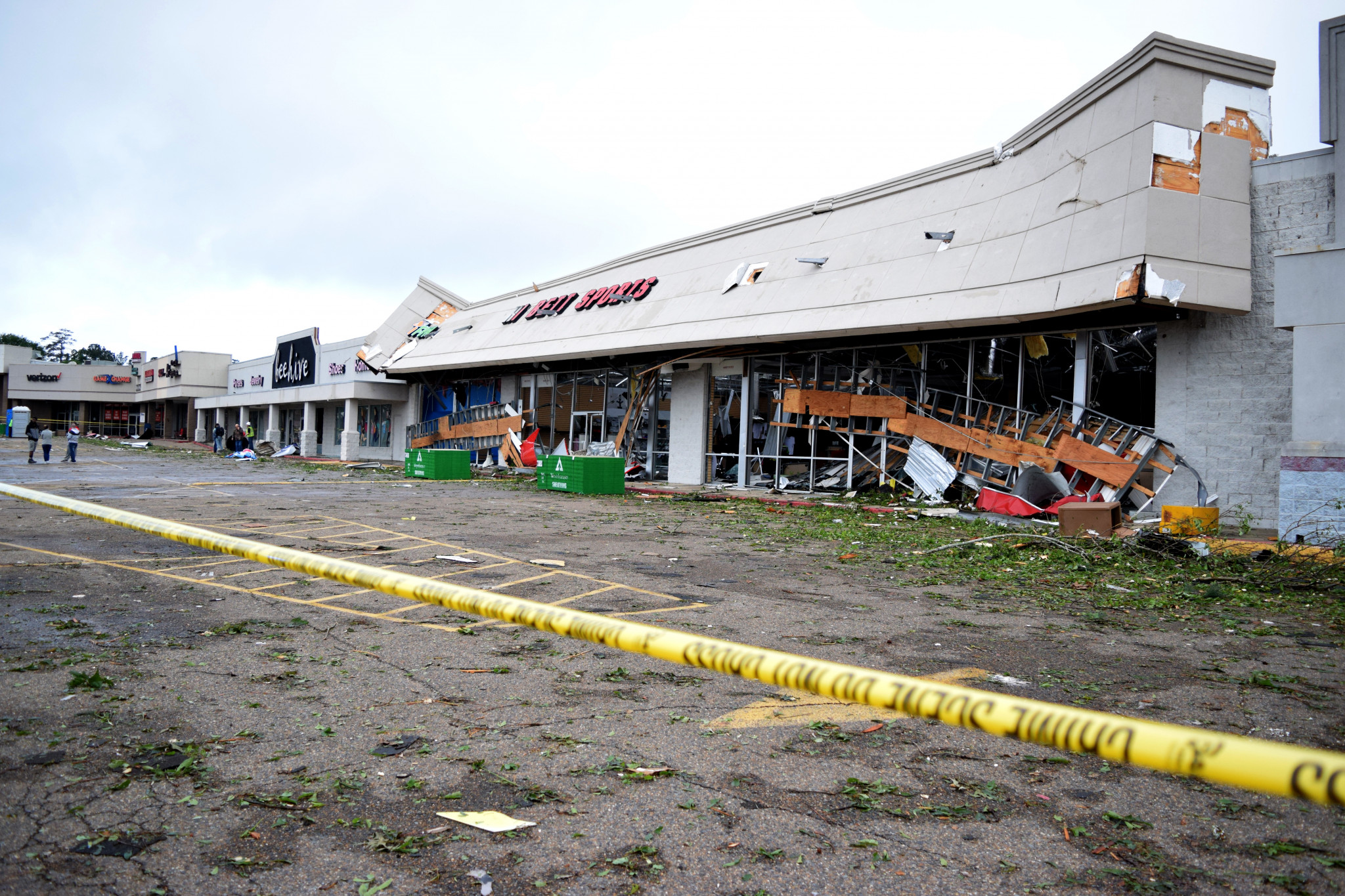 Hibbett Sports was destroyed by the 2019 tornado as well.