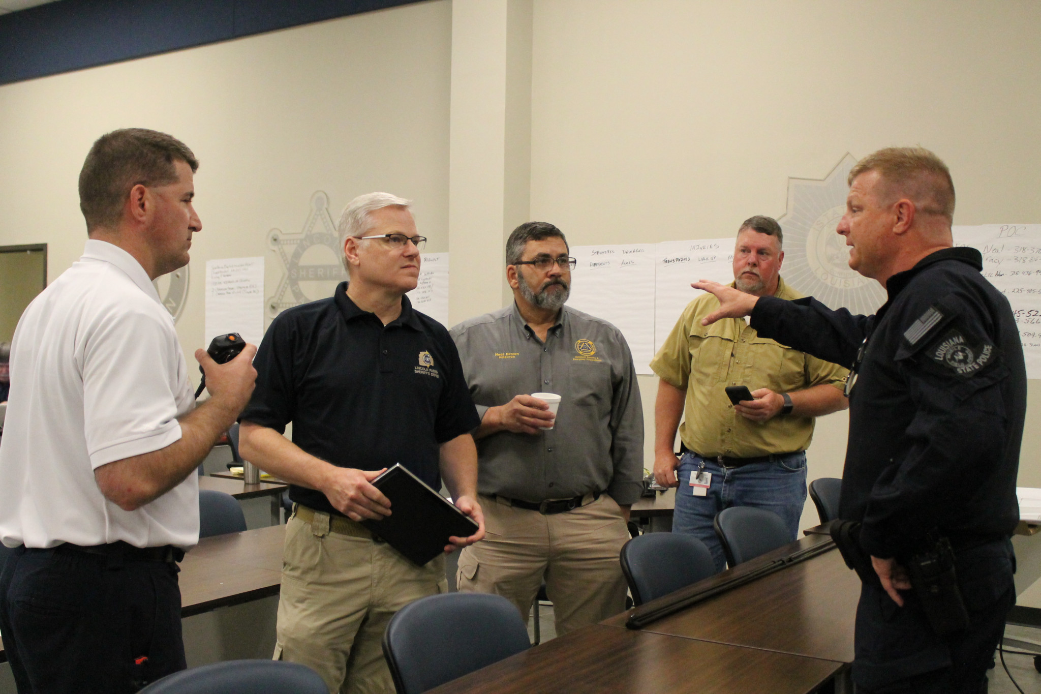 Inside the Emergency Operations Center