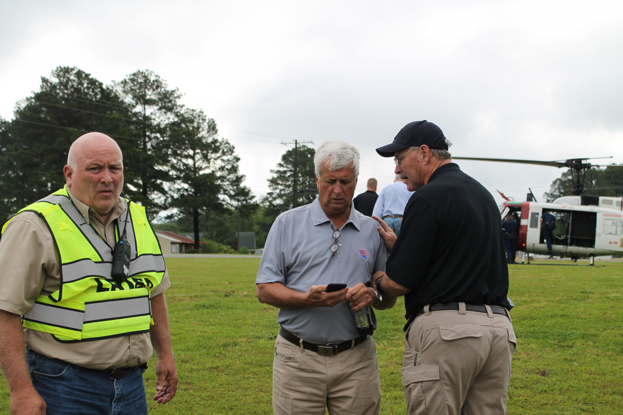 Franklin, Walker and Ruston Police Chief Steve Rogers — April 25
