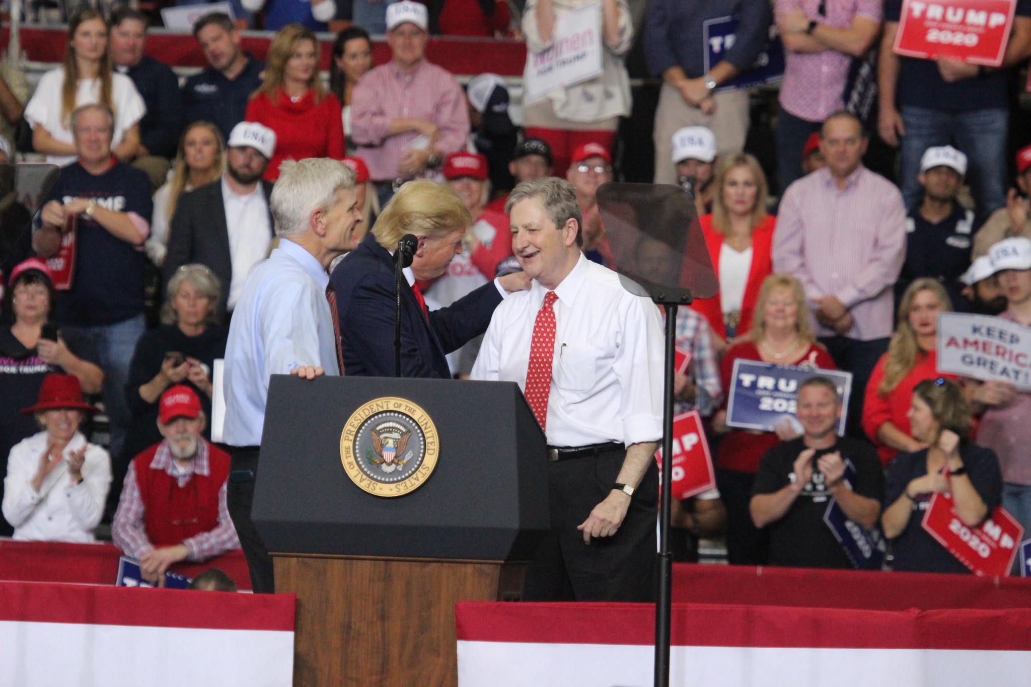 Louisiana's U.S. Senators Bill Cassidy (left) and John Kennedy